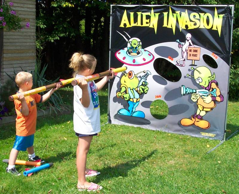 Dallas Carnival Game Rentals: Alien Invasion