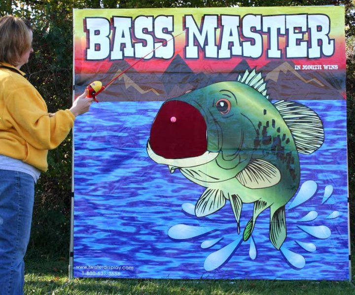 Dallas Carnival Game Rentals: Bass Master
