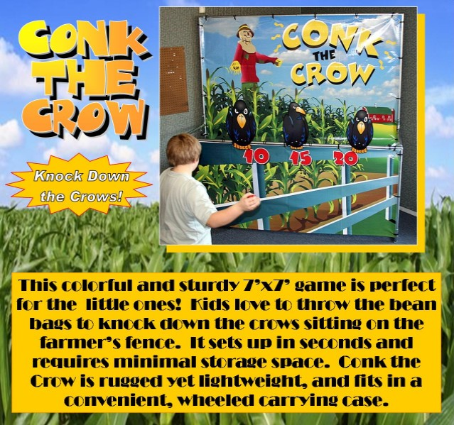 Dallas Carnival Game Rentals: Conk the Crow