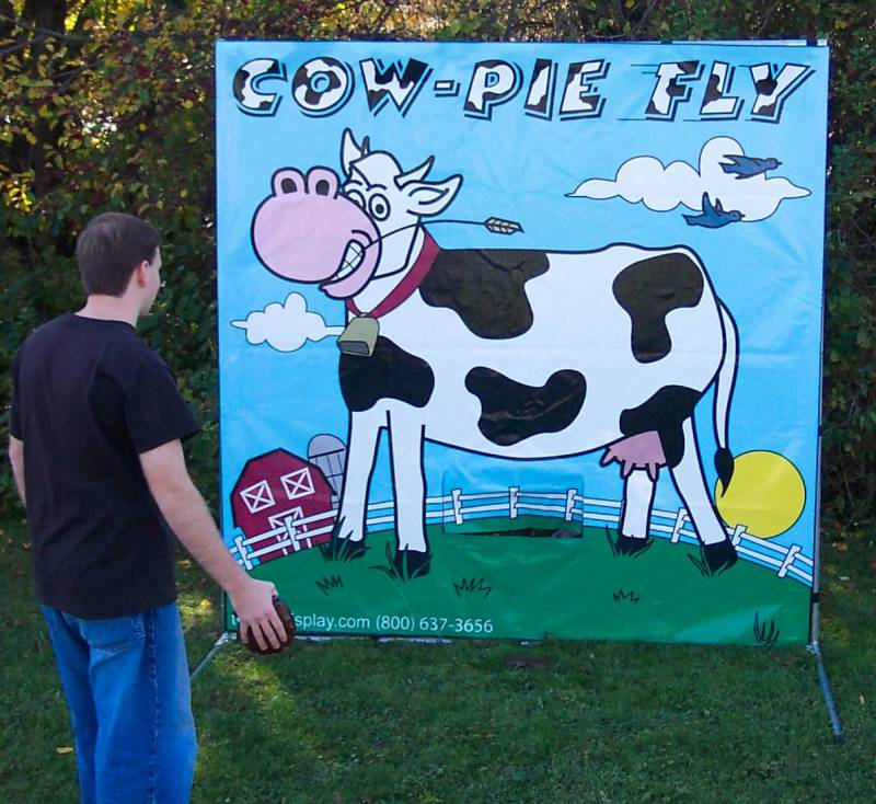 Dallas Carnival Game Rentals: Cow Pie Fly