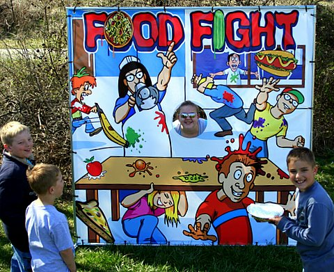 Dallas Carnival Game Rentals: Food Fight