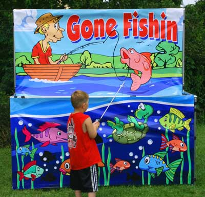 Dallas Carnival Game Rental: Gone Fishin
