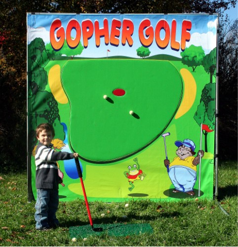 Dallas Carnival Game Rentals: Gopher Golf