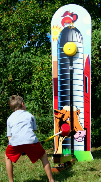 Dallas Carnival Game Rentals: Kiddie Striker