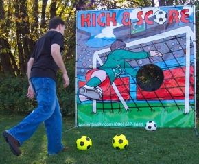 Dallas Carnival Game Rentals: Kick and Score Soccer