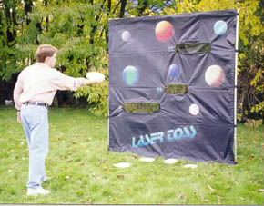 Dallas Carnival Game Rentals: Laser Toss
