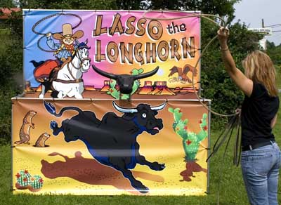 Dallas Carnival Game Rentals: Lasso the Longhorn