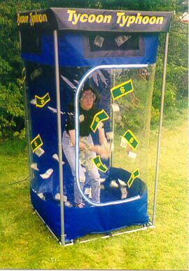 wind tunnel money machine rental