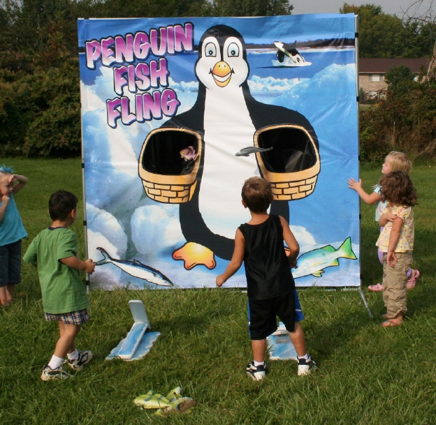Dallas Carnival Game Rentals: Penguin Fish Fling