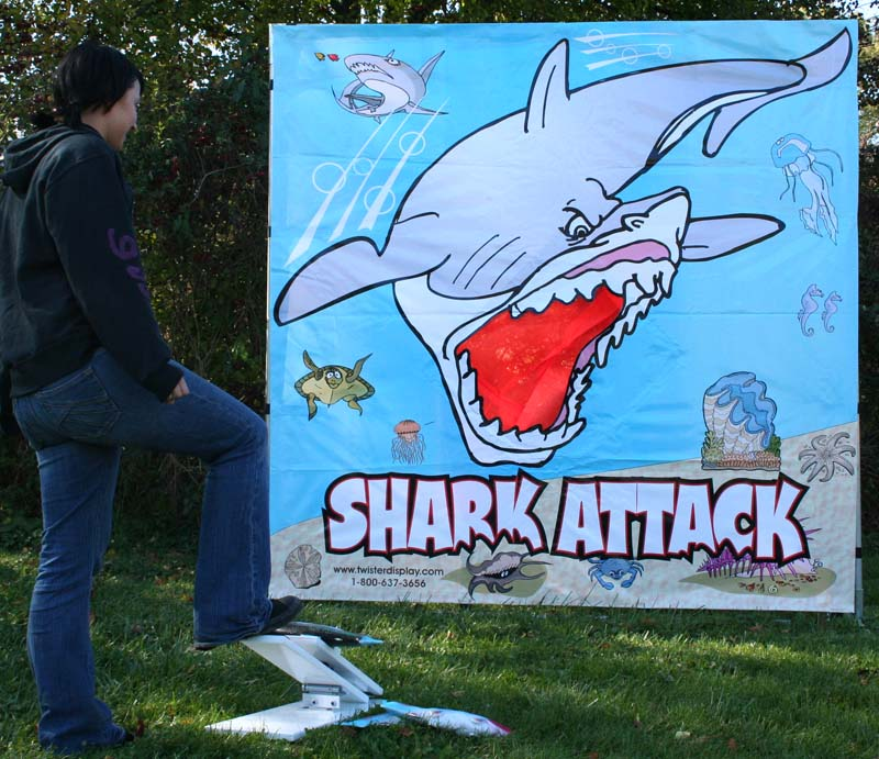 Dallas Carnival Game Rentals: Shark Attack